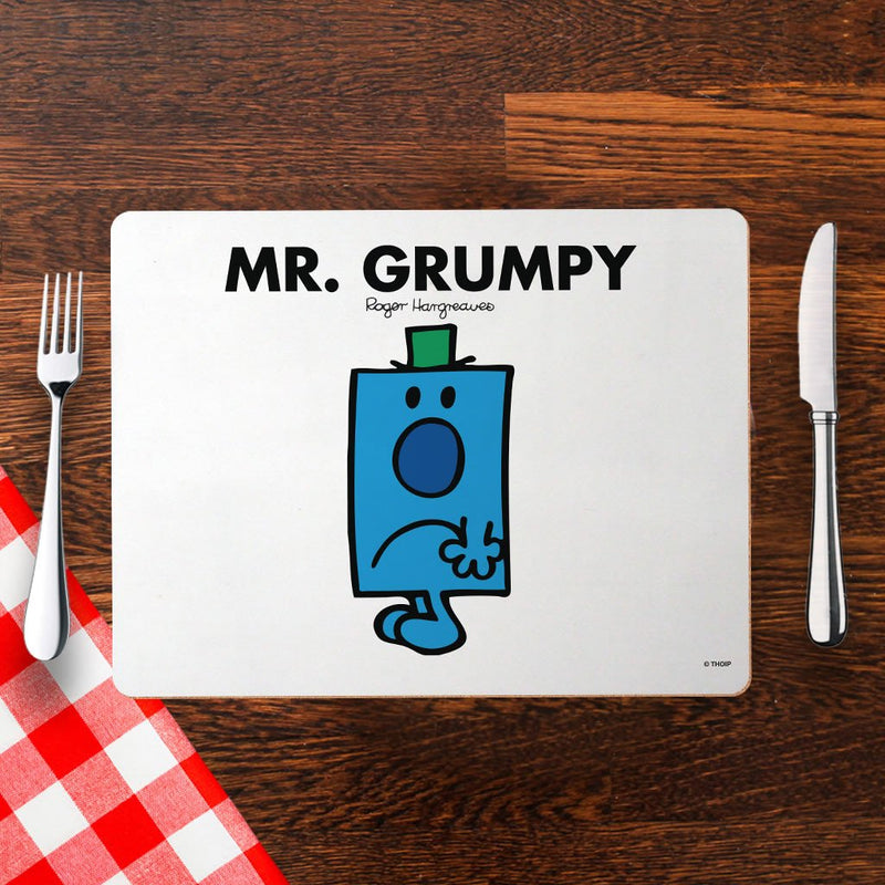 Mr. Grumpy Cork Placemat (Lifestyle)