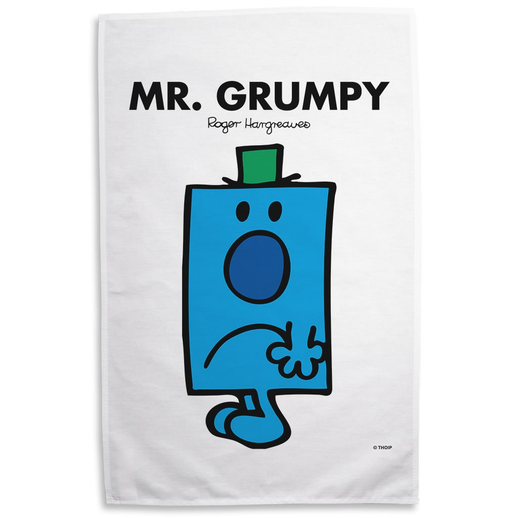 Mr. Grumpy Tea Towel