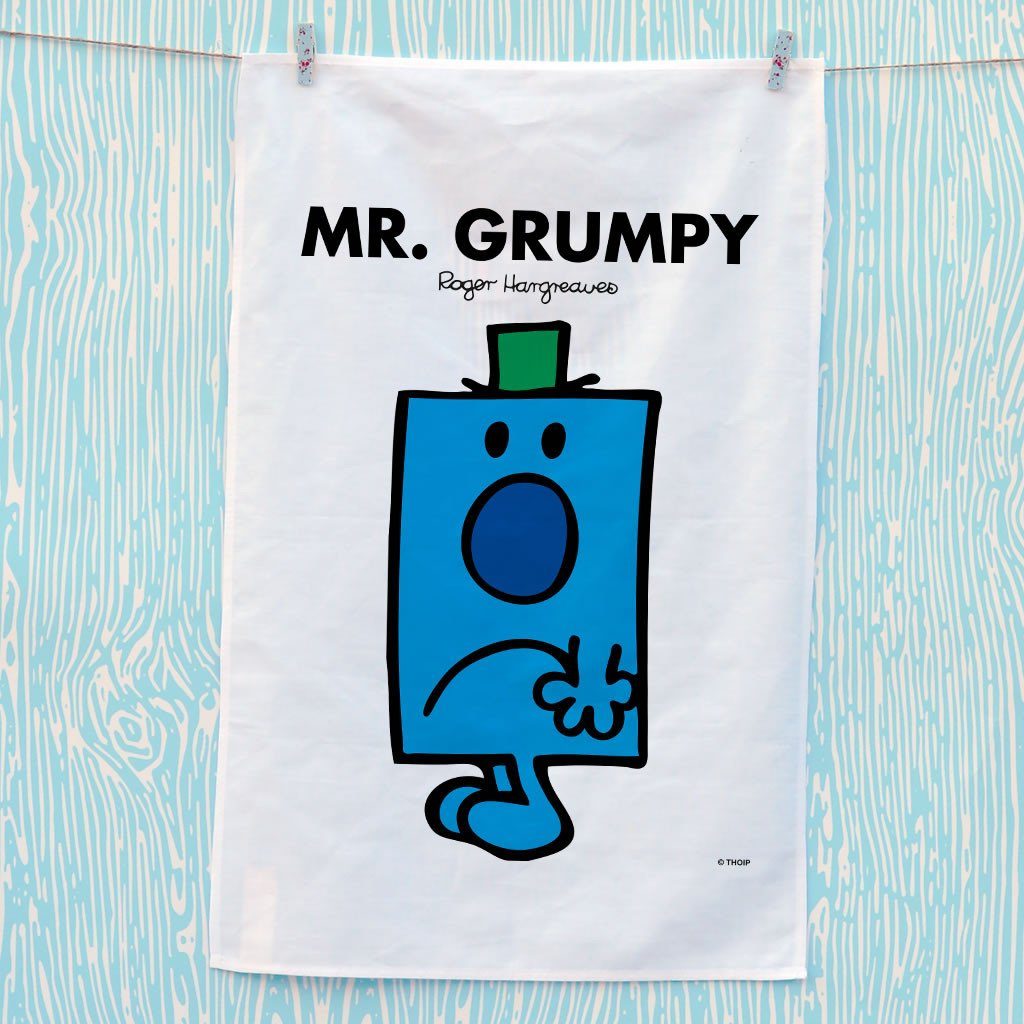 Mr. Grumpy Tea Towel (Lifestyle)