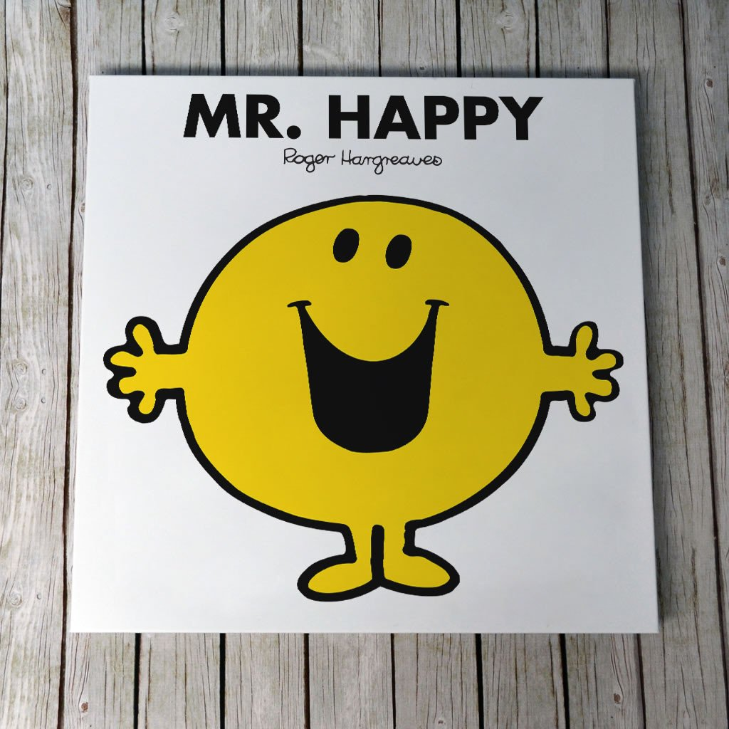 Mr. Happy Canvas (Lifestyle)