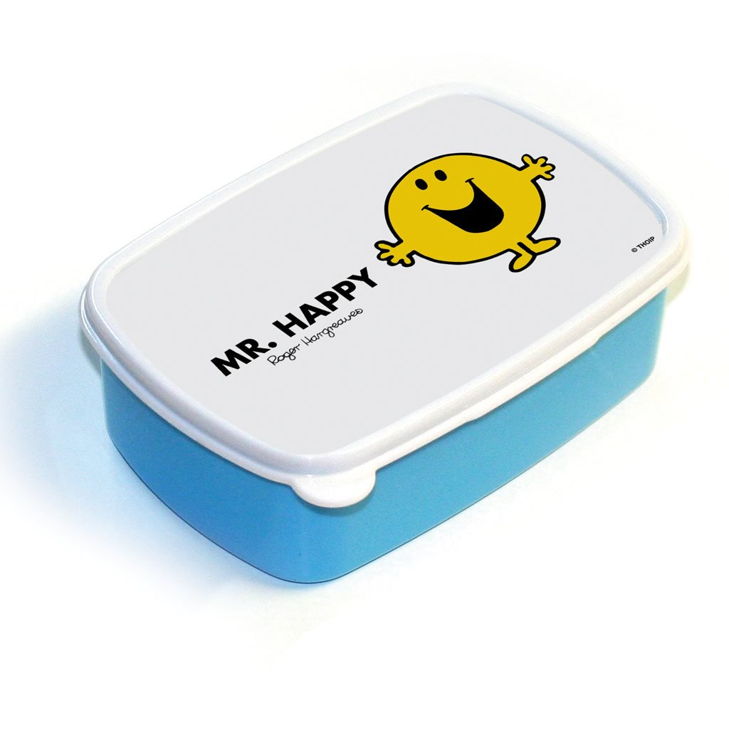 Mr. Happy Lunchbox (Blue)