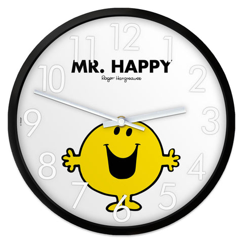 Mr. Happy Personalised Clock