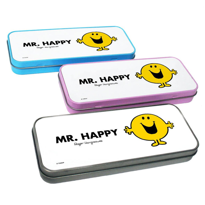 Mr. Happy Pencil Case Tin
