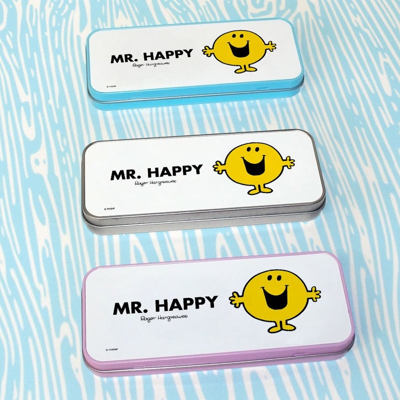 Mr. Happy Pencil Case Tin (Lifestyle)