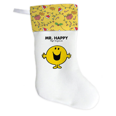 Mr. Happy Christmas Stocking (Front)