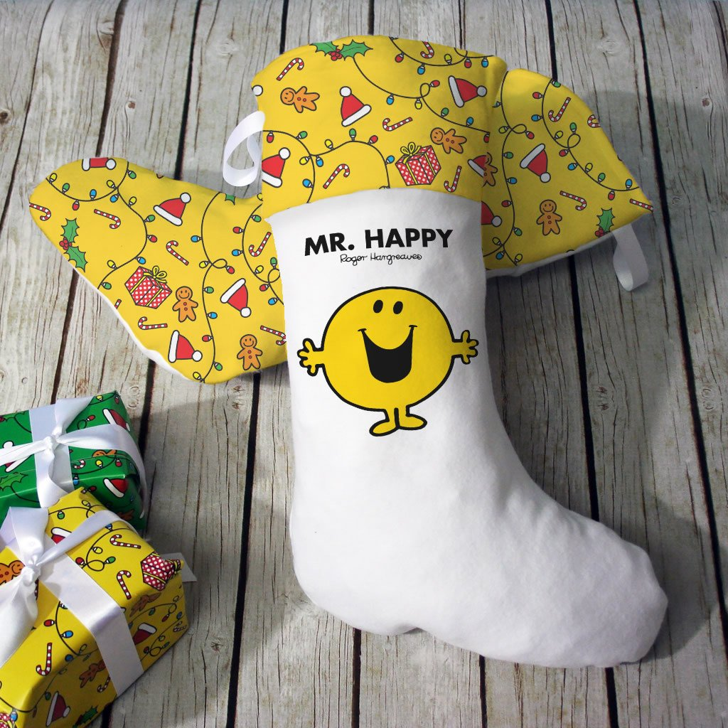 Mr. Happy Christmas Stocking (Lifestyle)