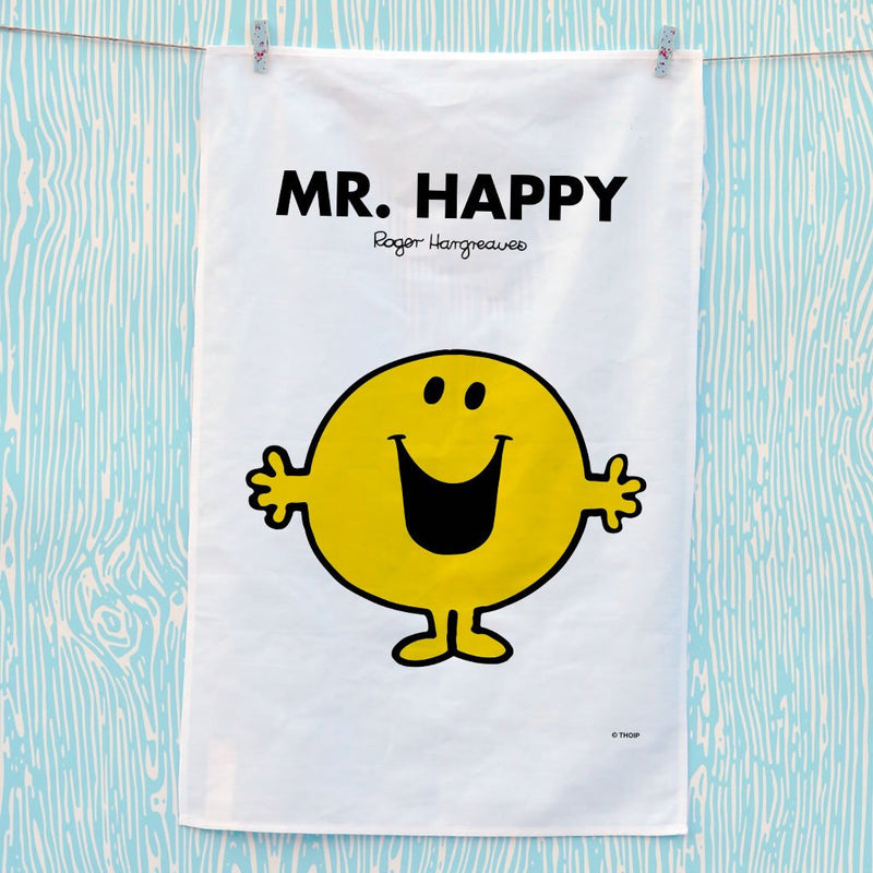 Mr. Happy Tea Towel (Lifestyle)