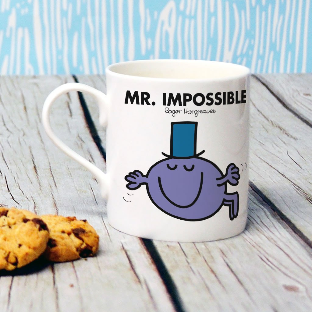 Mr. Impossible Bone China Mug (Lifestyle)