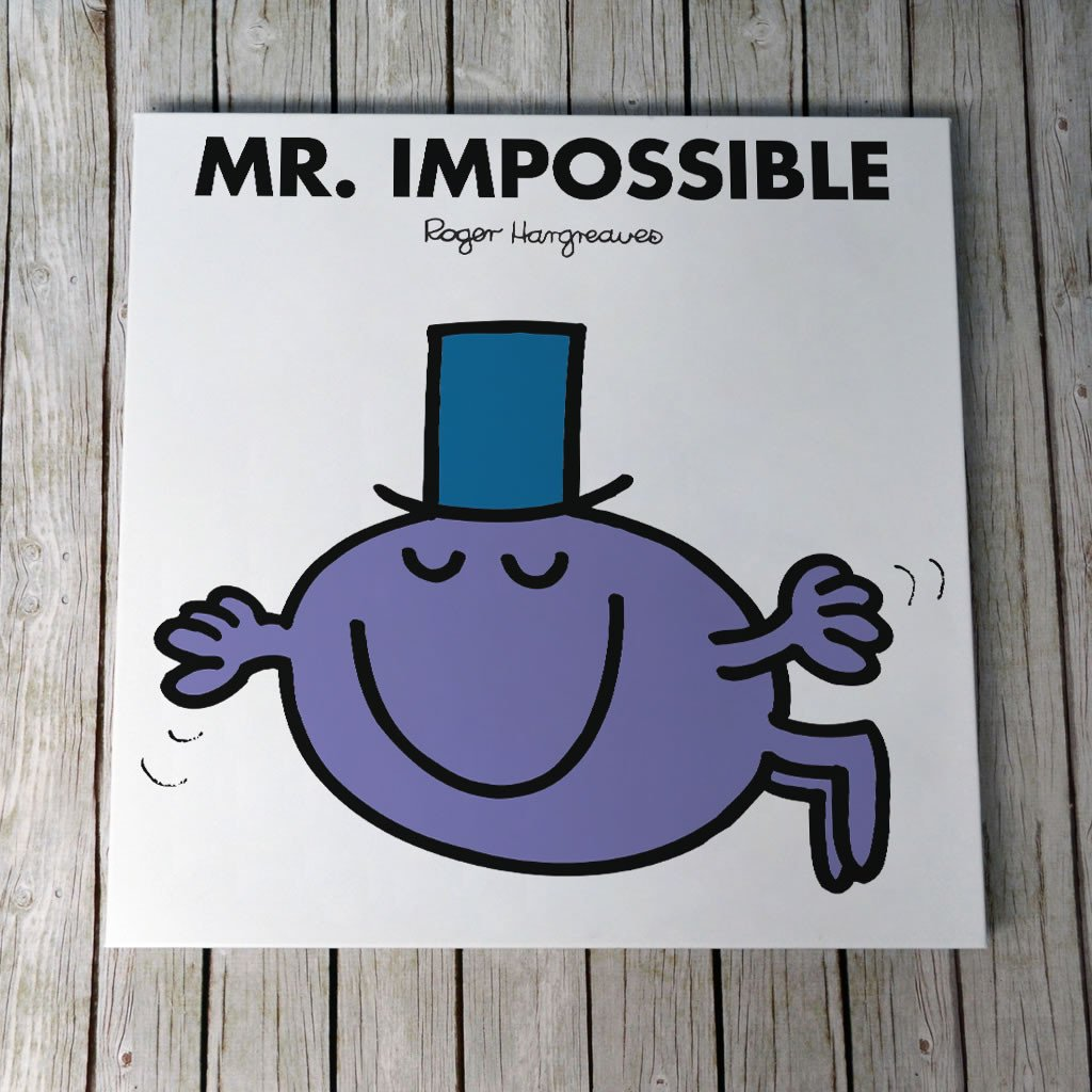 Mr. Impossible Canvas (Lifestyle)