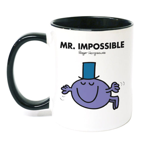 Mr. Impossible Large Porcelain Colour Handle Mug