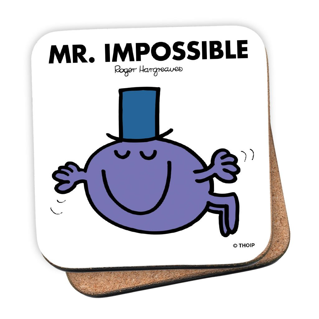 Mr. Impossible Cork Coaster