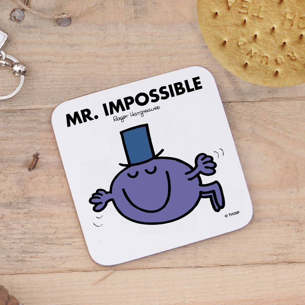 Mr. Impossible Cork Coaster (Lifestyle)