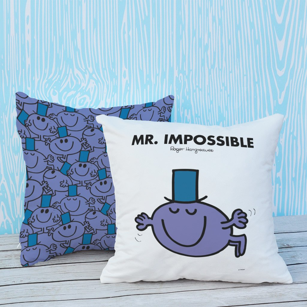 Mr. Impossible Micro Fibre Cushion (Lifestyle)