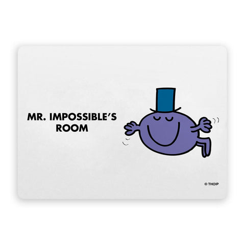 Mr. Impossible Door Plaque
