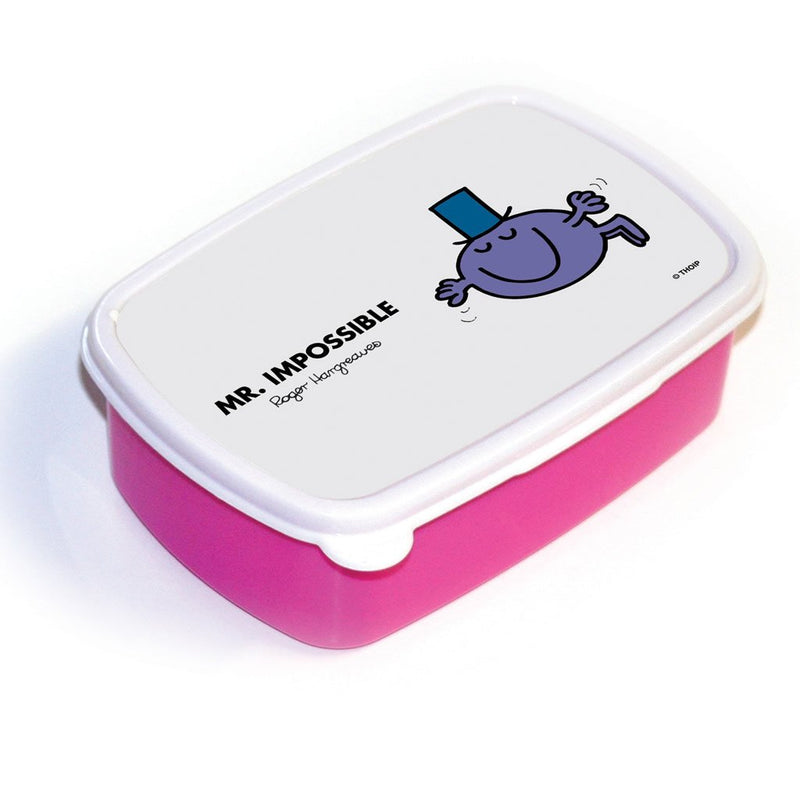 Mr. Impossible Lunchbox (Pink)