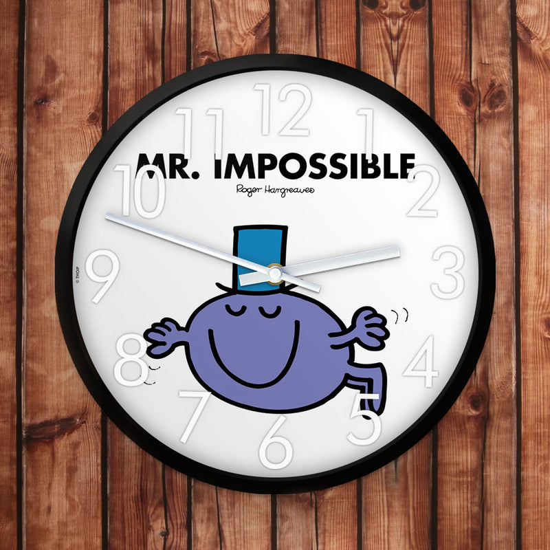 Mr. Impossible Personalised Clock (Lifestyle)