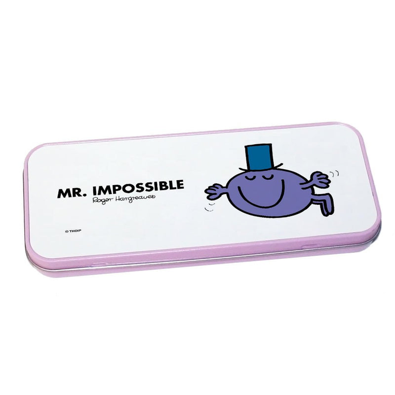 Mr. Impossible Pencil Case Tin (Pink)