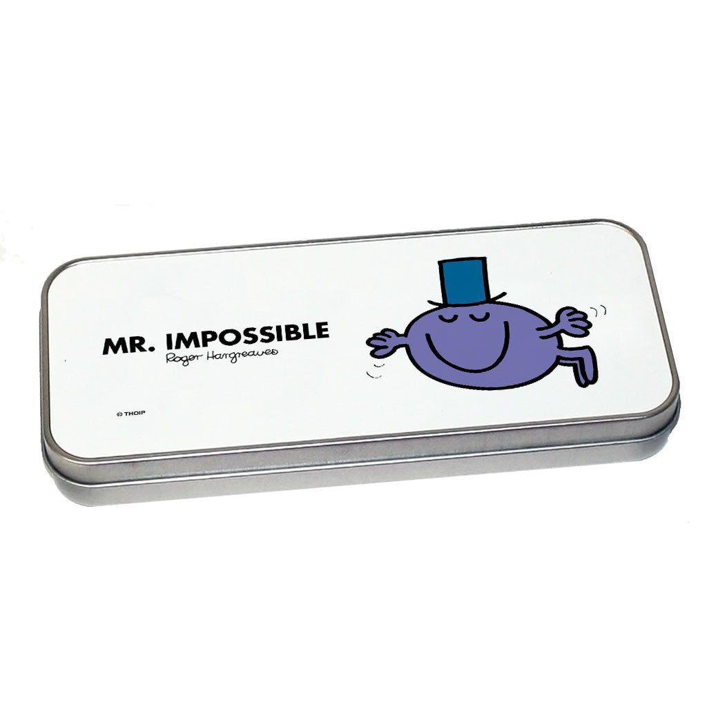 Mr. Impossible Pencil Case Tin (Silver)