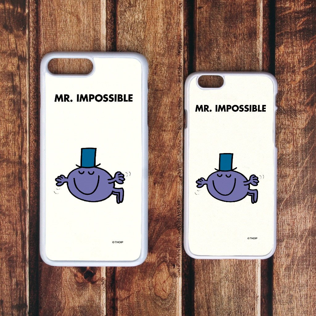 Mr. Impossible White Phone Case (Lifestyle)