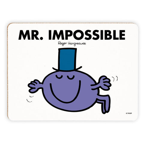 Mr. Impossible Cork Placemat