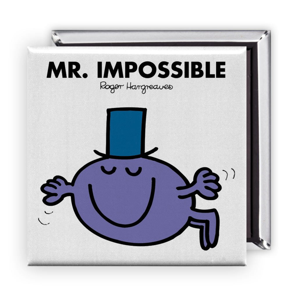 Mr. Impossible Square Magnet
