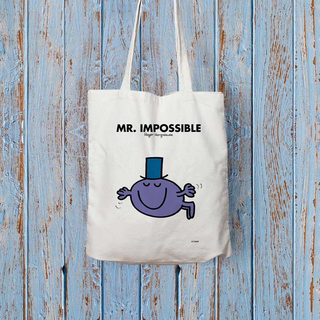 Mr. Impossible Long Handled Tote Bag (Lifestyle)