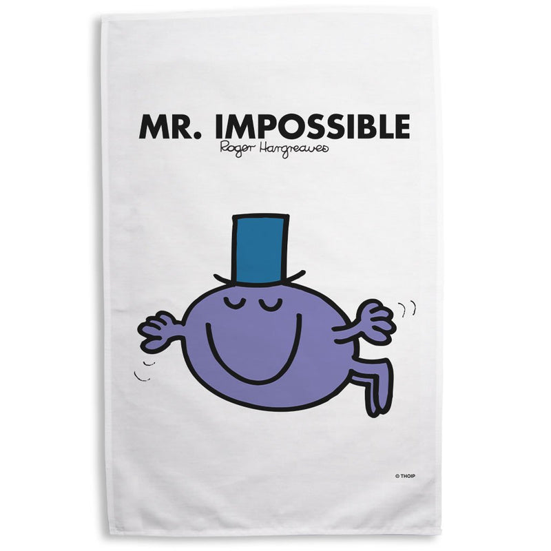 Mr. Impossible Tea Towel