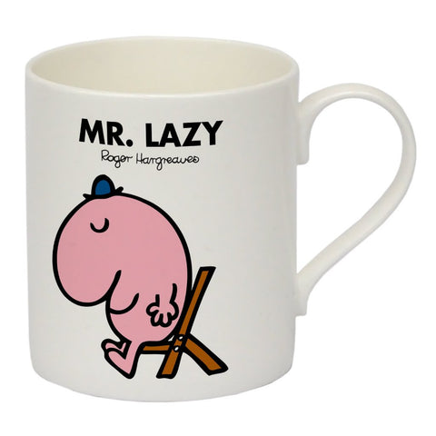 Mr. Lazy Bone China Mug