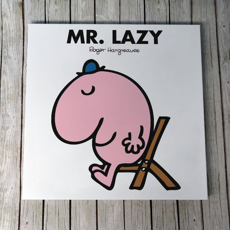 Mr. Lazy Canvas (Lifestyle)