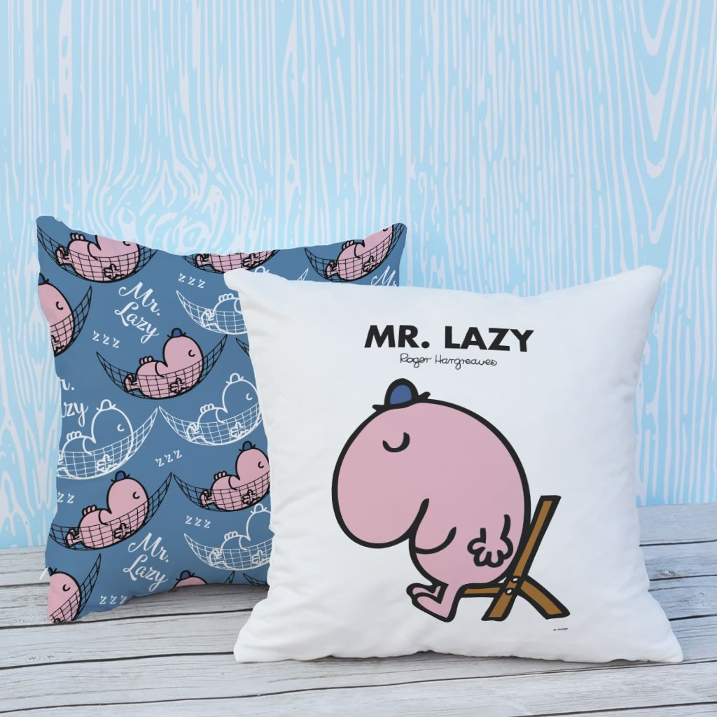 Mr. Lazy Micro Fibre Cushion (Lifestyle)