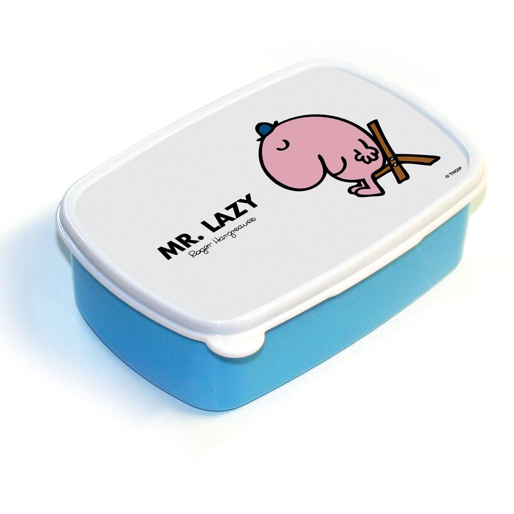 Mr. Lazy Lunchbox (Blue)