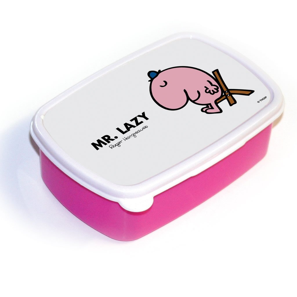 Mr. Lazy Lunchbox (Pink)