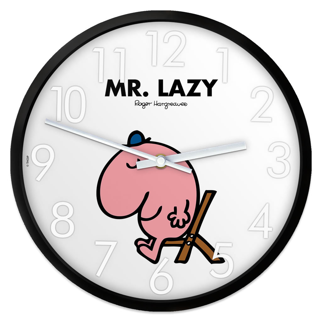 Mr. Lazy Personalised Clock