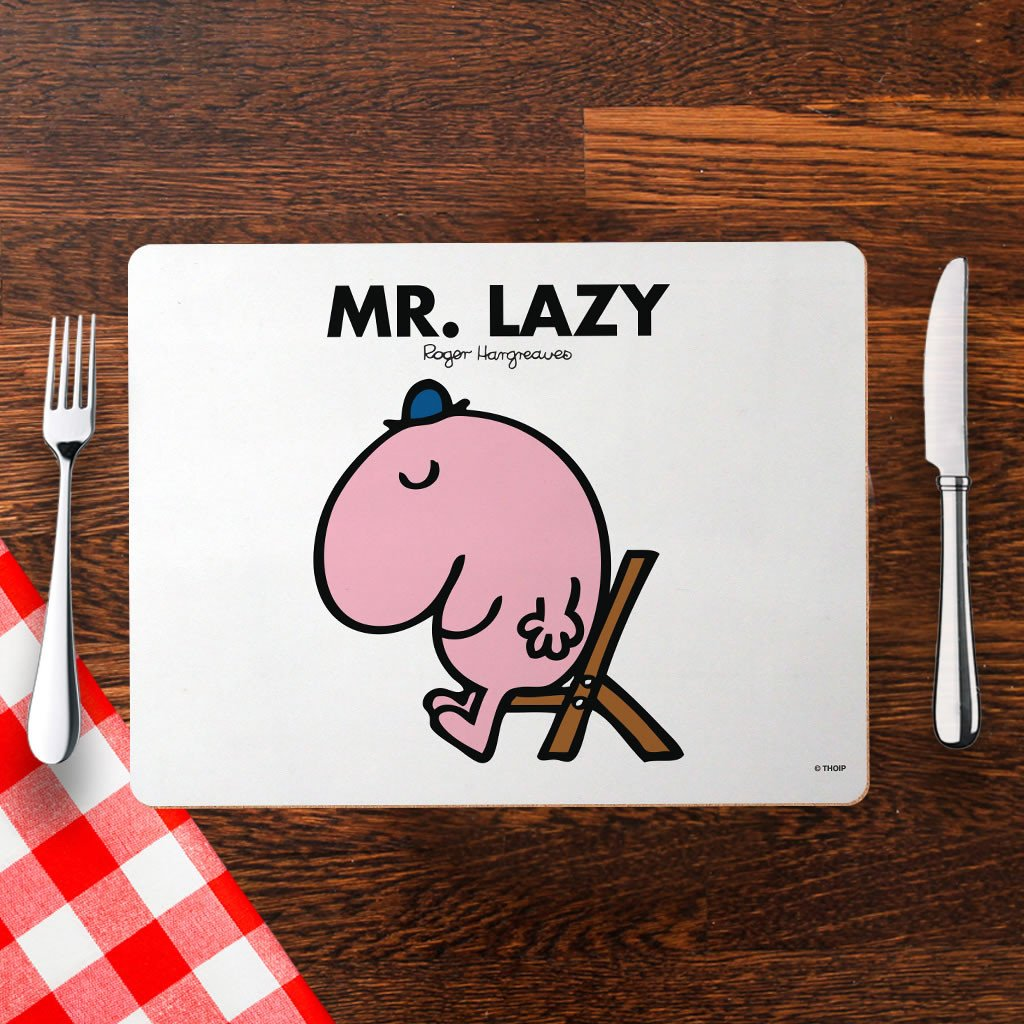 Mr. Lazy Cork Placemat (Lifestyle)