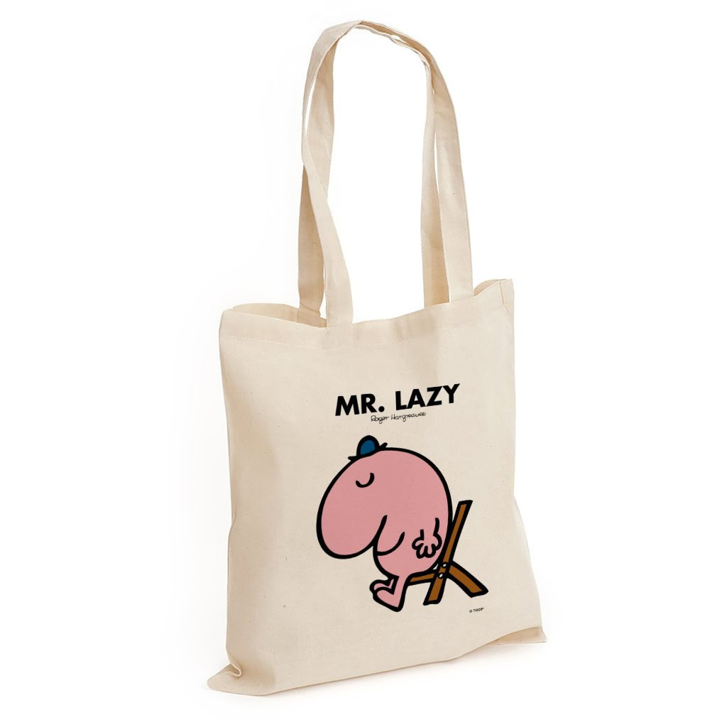 Mr. Lazy Long Handled Tote Bag