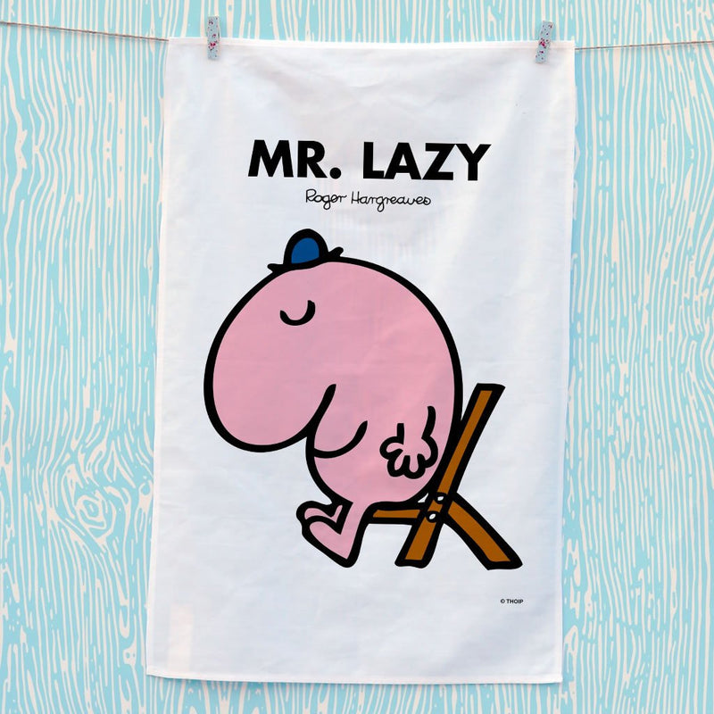 Mr. Lazy Tea Towel (Lifestyle)