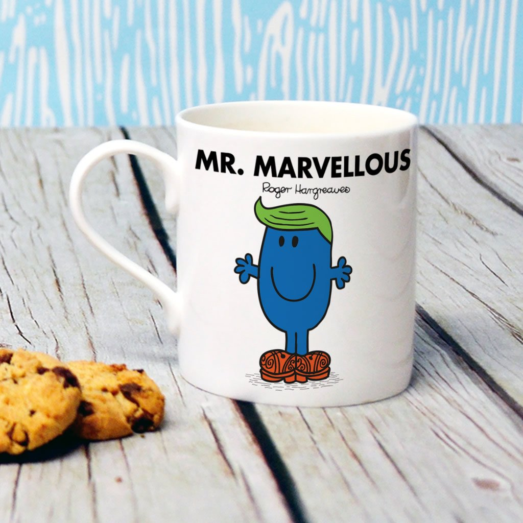 Mr. Marvellous Bone China Mug (Lifestyle)