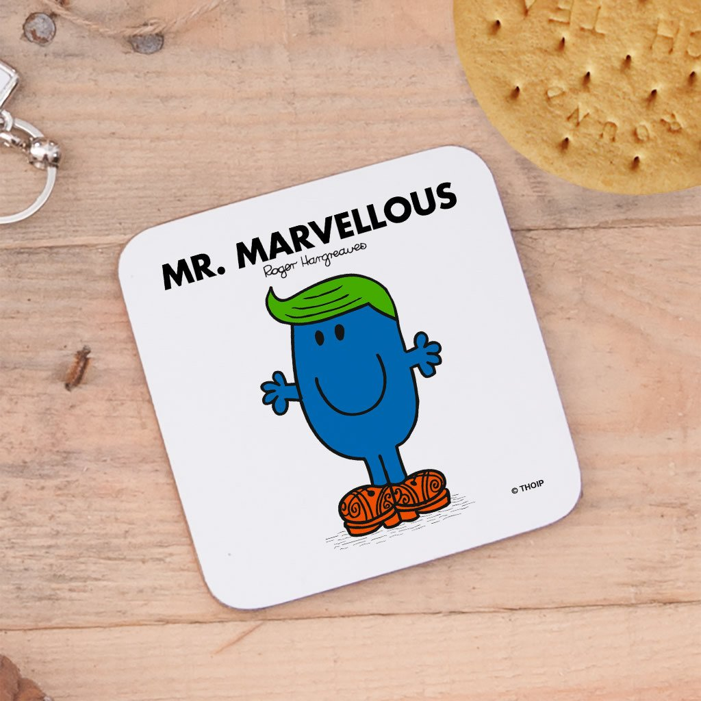 Mr. Marvellous Cork Coaster (Lifestyle)
