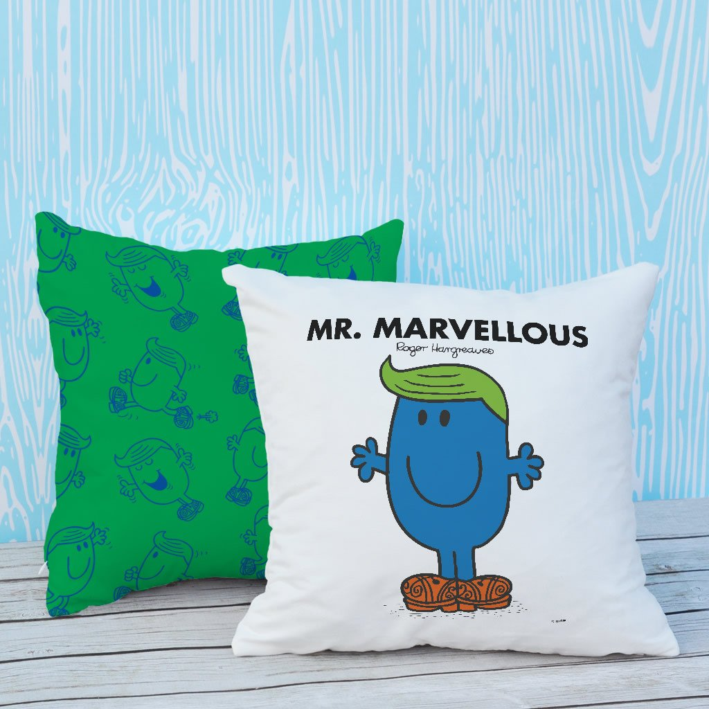 Mr. Marvellous Micro Fibre Cushion (Lifestyle)