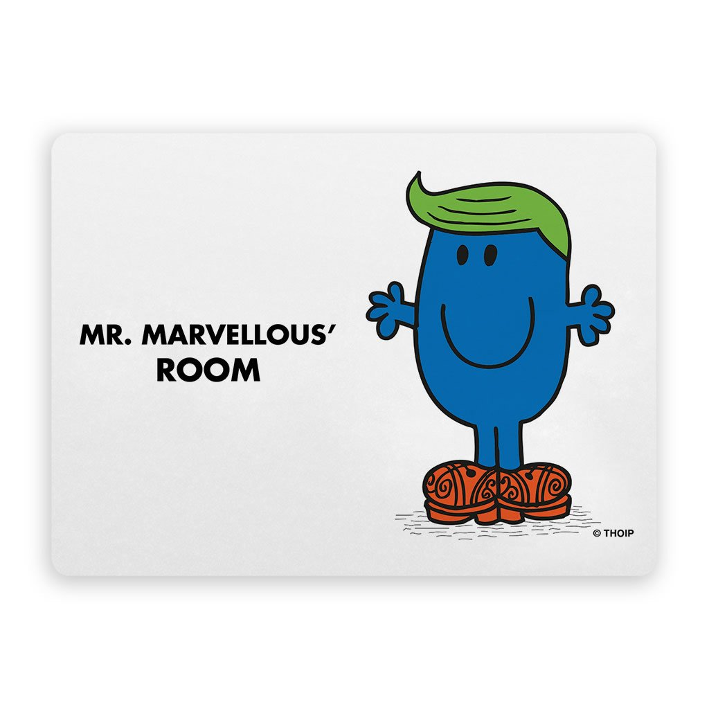 Mr. Marvellous Door Plaque