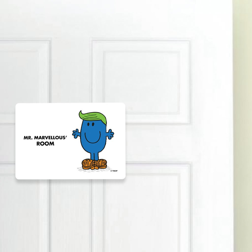 Mr. Marvellous Door Plaque (Lifestyle)