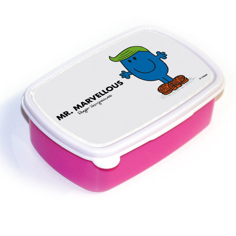 Mr. Marvellous Lunchbox (Pink)