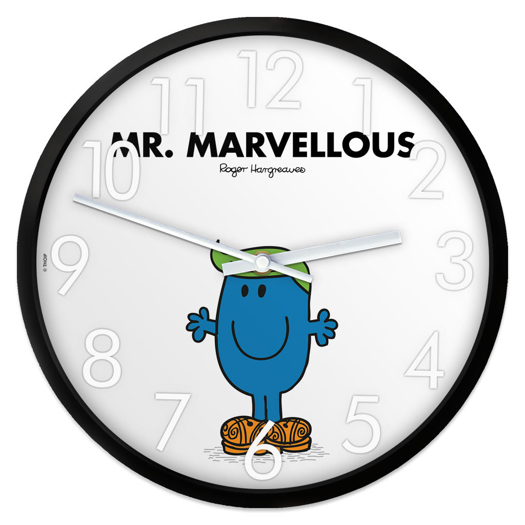Mr. Marvellous Personalised Clock