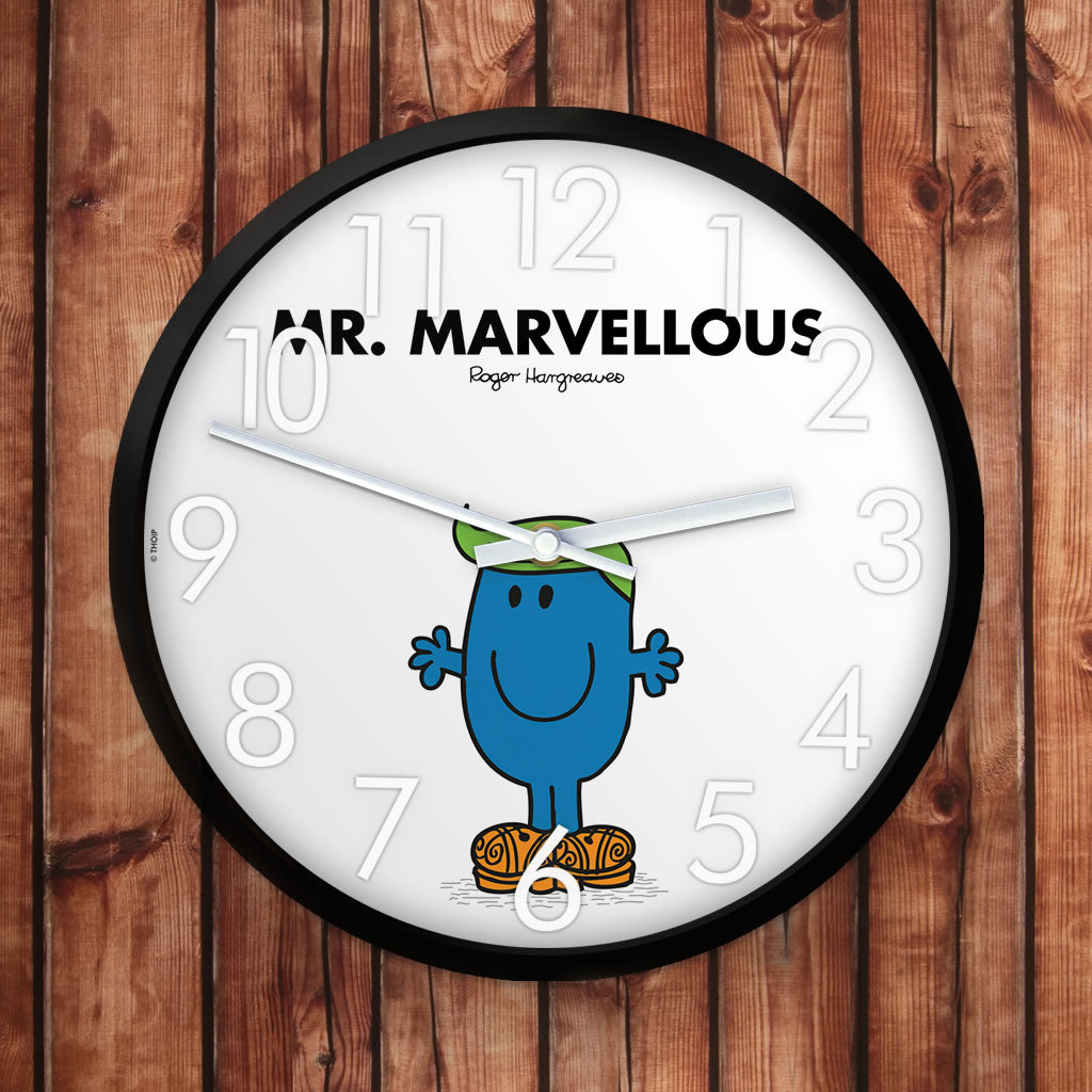 Mr. Marvellous Personalised Clock (Lifestyle)