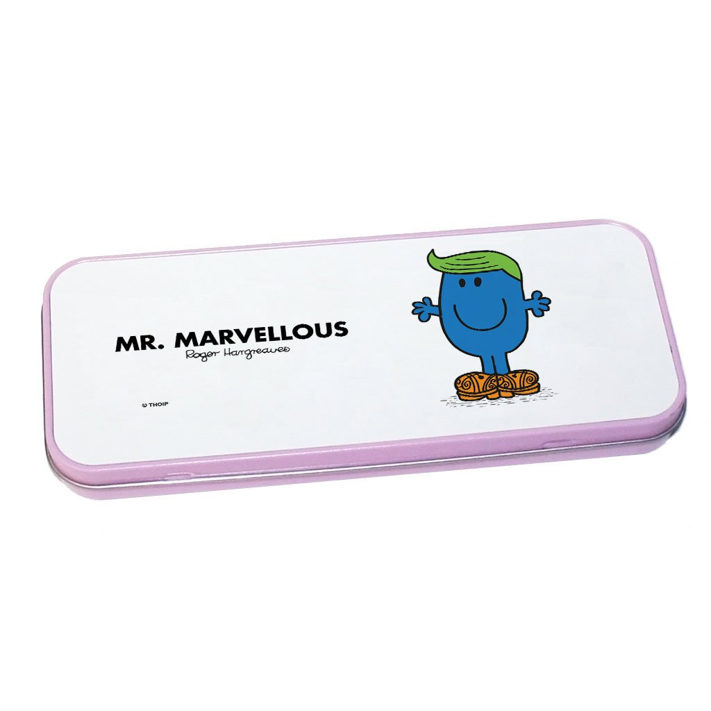 Mr. Marvellous Pencil Case Tin (Pink)