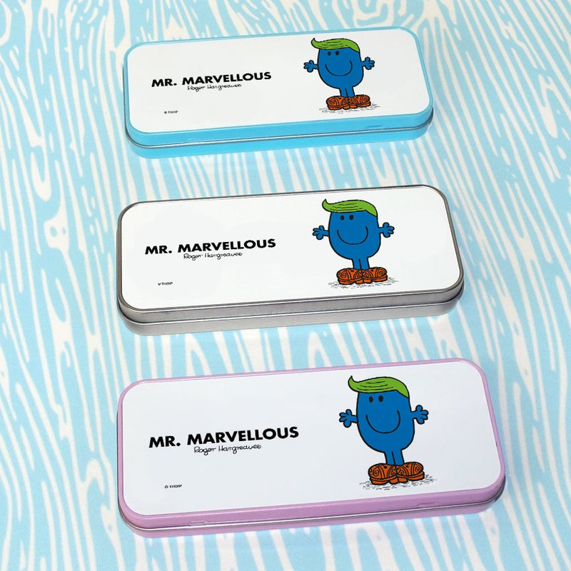 Mr. Marvellous Pencil Case Tin (Lifestyle)