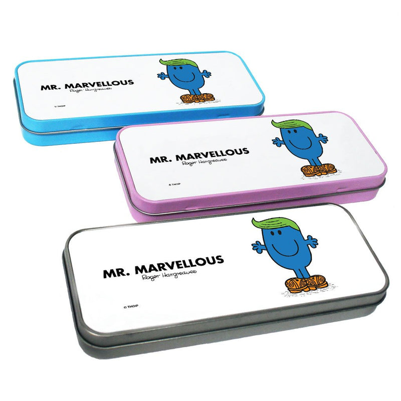 Mr. Marvellous Pencil Case Tin