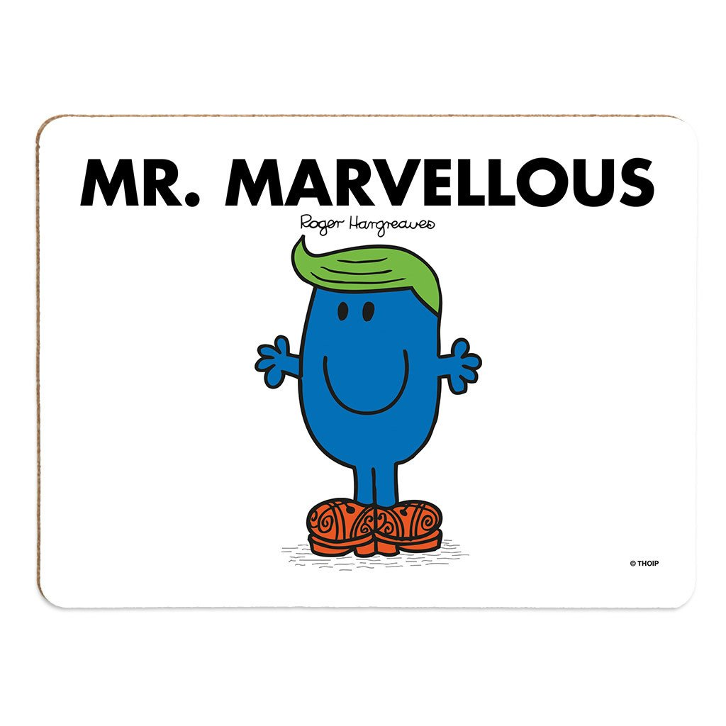 Mr. Marvellous Cork Placemat