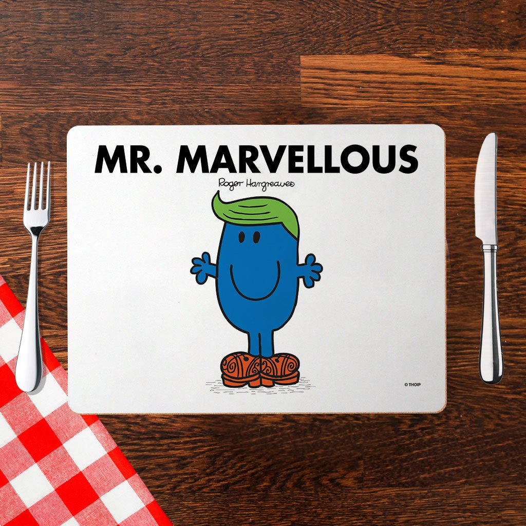 Mr. Marvellous Cork Placemat (Lifestyle)