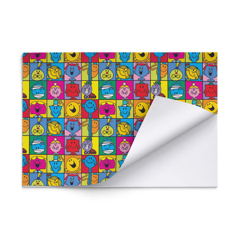 Mr. Men and Little Miss Gift Wrap